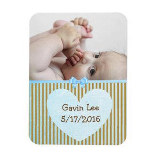 Magnet Flexible Aimant personnalisé Brown de photo de bébé et