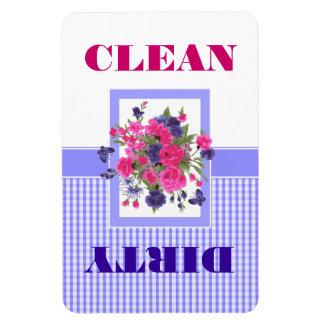 Magnet Flexible Aimant propre ou sale de conception de fleur de
