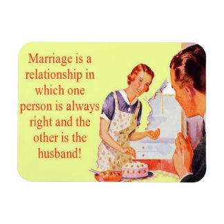 Magnet Flexible Aimant toujours droit de mariage d'épouse