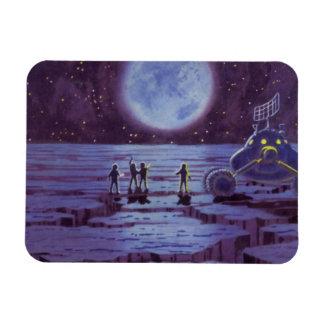 Magnet Flexible Aliens vintages de Rover de la terre de la