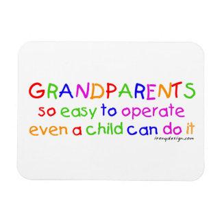 Magnet Flexible Amour de grands-parents