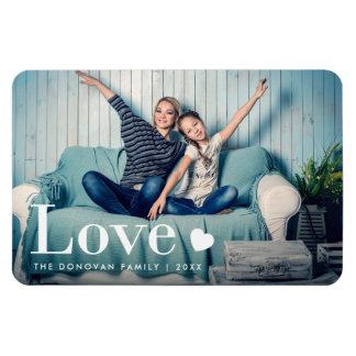 Magnet Flexible Amour | votre photo personnelle et un coeur
