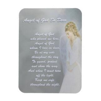 Magnet Flexible Ange de Dieu Poem tellement cher