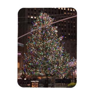 Magnet Flexible Arbre de Noël central de New York City Rockefeller