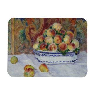 Magnet Flexible Auguste Renoir - la vie toujours avec des pêches