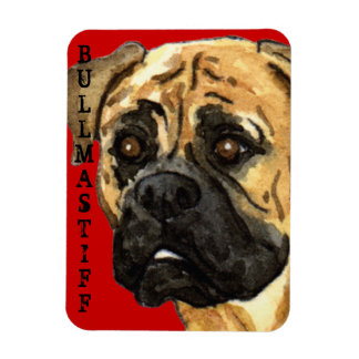 Magnet Flexible Bloc de couleur de Bullmastiff