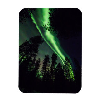 Magnet Flexible Borealis de l'aurore en Laponie finlandaise
