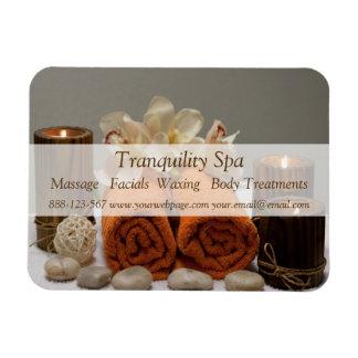 Magnet Flexible Bougies tranquilles de serviettes de salon de spa