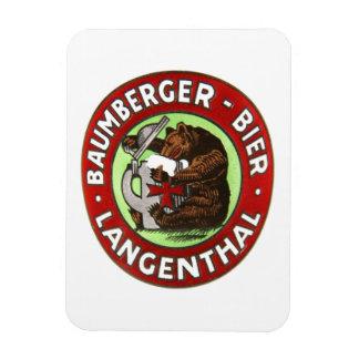 Magnet Flexible Brasserie Baumberger Langenthal aimant
