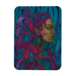 Magnet Flexible Bruit-surréalisme de beaux-arts d'amaryllis, de