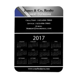 Magnet Flexible Calendrier de la publicité d'affaires 2017