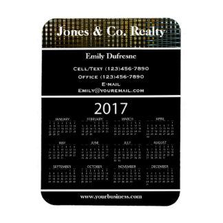 Magnet Flexible Calendrier II de la publicité d'affaires 2017