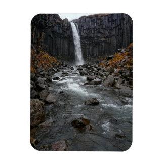 Magnet Flexible Cascade de Svartifoss dans l'aimant vertical de