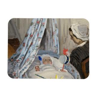 Magnet Flexible Claude Monet | le berceau, Camille avec le fils