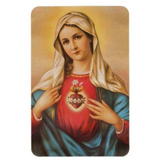Magnet Flexible Coeur douleureux impeccable d'aimant de Mary