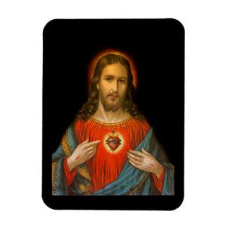 Magnet Flexible Coeur sacré de Jésus c1899