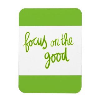 Magnet Flexible Concentrez sur le bon motivat positif d'attitude