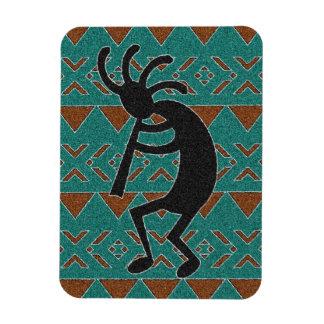 Magnet Flexible Conception tribale du sud-ouest de Kokopelli de