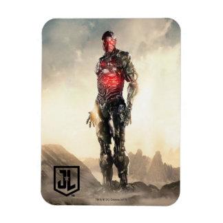 Magnet Flexible Cyborg de la ligue de justice | sur le champ de