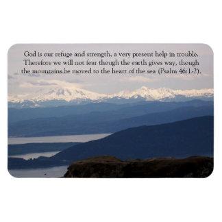 Magnet Flexible Dieu est notre refuge et force