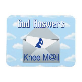 Magnet Flexible Dieu répond à l'aimant de cadeau de courrier de