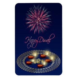 Magnet Flexible Diwali heureux Ganesha Rangoli - aimant flexible