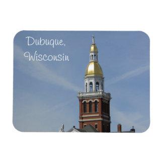Magnet Flexible Dubuque, réfrigérateur du Wisconsin ou aimant de