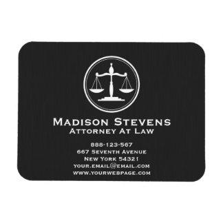Magnet Flexible Échelles de justice d'avocat de mandataire