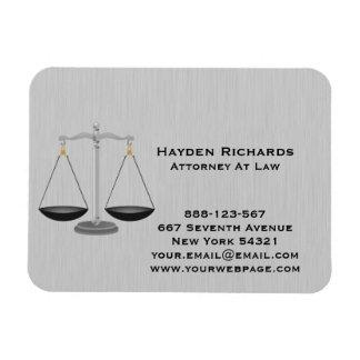 Magnet Flexible Échelles de justice de mandataire d'avocat
