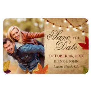 Magnet Flexible Économies de coutume le mariage de automne de