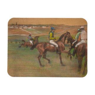 Magnet Flexible Edgar Degas - chevaux de course