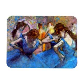 Magnet Flexible Edgar Degas - danseurs dans le bleu - amant de