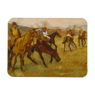 Magnet Flexible Edgar Degas - devant la course