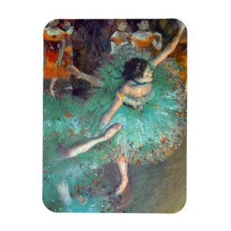 Magnet Flexible Edgar Degas - les danseurs verts - danse de ballet