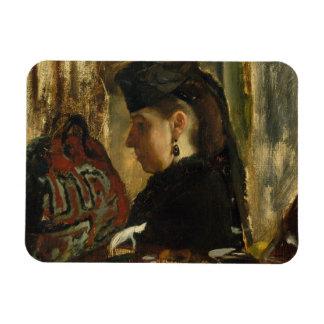 Magnet Flexible Edgar Degas - Mademoiselle Marie Dihau (1843-1935)