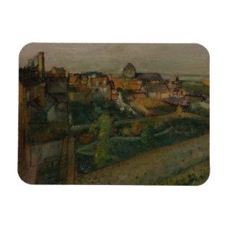 Magnet Flexible Edgar Degas - vue de Saint-Valery-sur-Somme