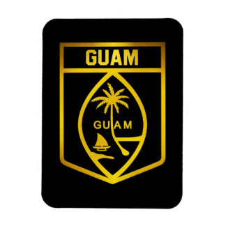 Magnet Flexible Emblème de la Guam
