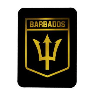 Magnet Flexible Emblème des Barbade