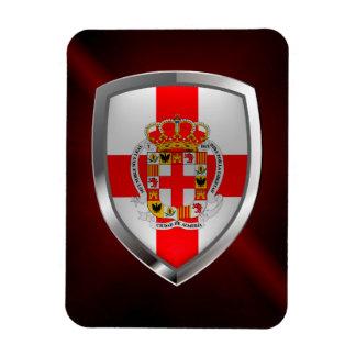Magnet Flexible Emblème métallique d'Almería