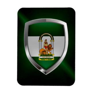 Magnet Flexible Emblème métallique d'Andalucía