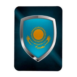Magnet Flexible Emblème métallique de Kazakhstan