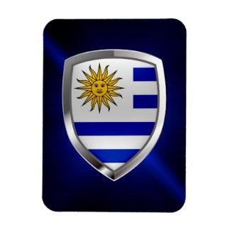 Magnet Flexible Emblème métallique de l'Uruguay