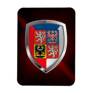 Magnet Flexible Emblème métallique de République Tchèque