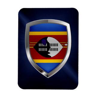 Magnet Flexible Emblème métallique du Souaziland