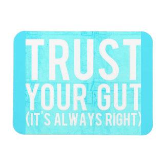 Magnet Flexible Faites confiance à votre intestin son conseil