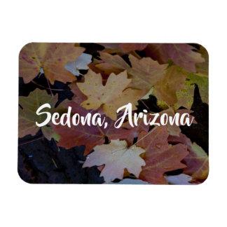 Magnet Flexible Feuille d'automne tout autour, Sedona Arizona