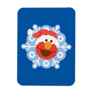 Magnet Flexible Flocon de neige d'Elmo