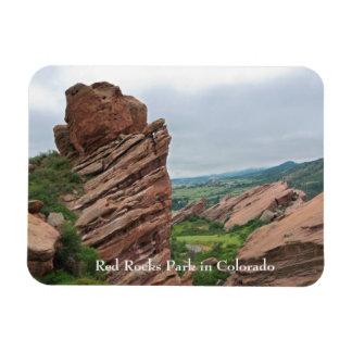 Magnet Flexible Formations et chaînes de roche entourant les