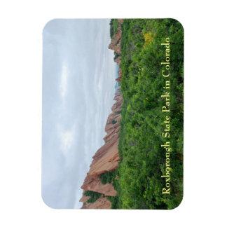 Magnet Flexible Formes de région boisée et de roche de vallée de