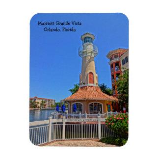 Magnet Flexible Grande station de vacances tropicale Orlando, la